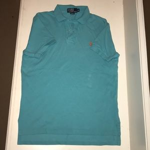 Polo by Ralph Lauren teal polo shirt